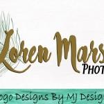 Photography Logo, Design Logo, Peacock Logo, Feather Logo