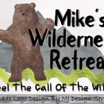 Wilderness Logo, Animal Logo, Bear Logo, Logo Design